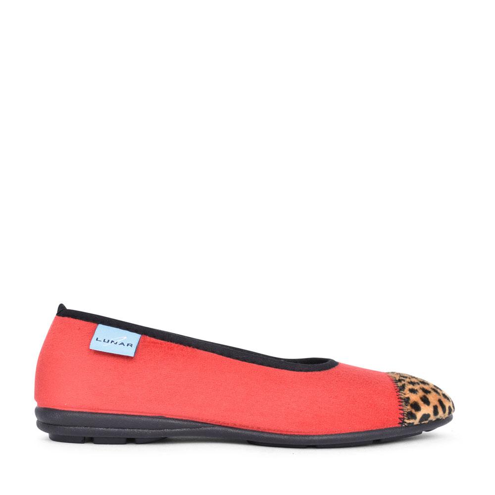 LADIES JESSIE KLA131 PUMP SLIPPER in RED