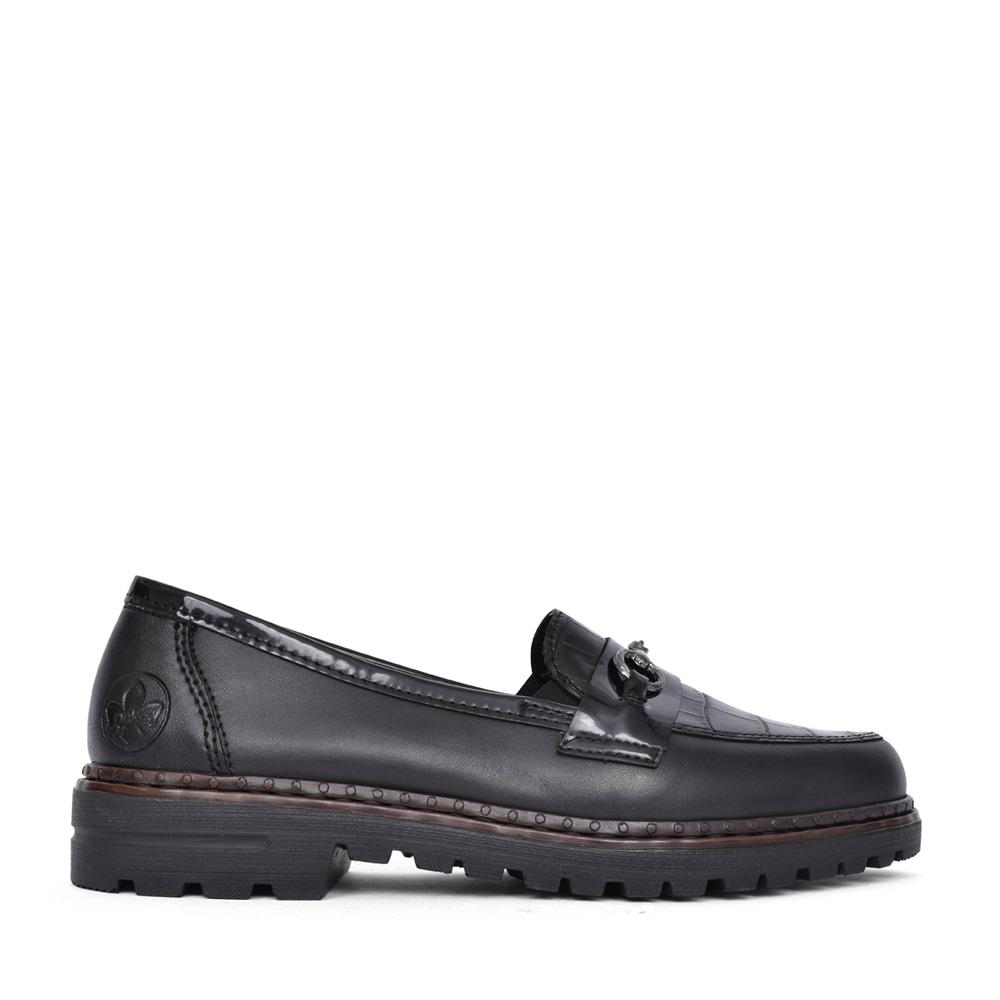 LADIES 54862 SLIP ON SHOE in BLACK