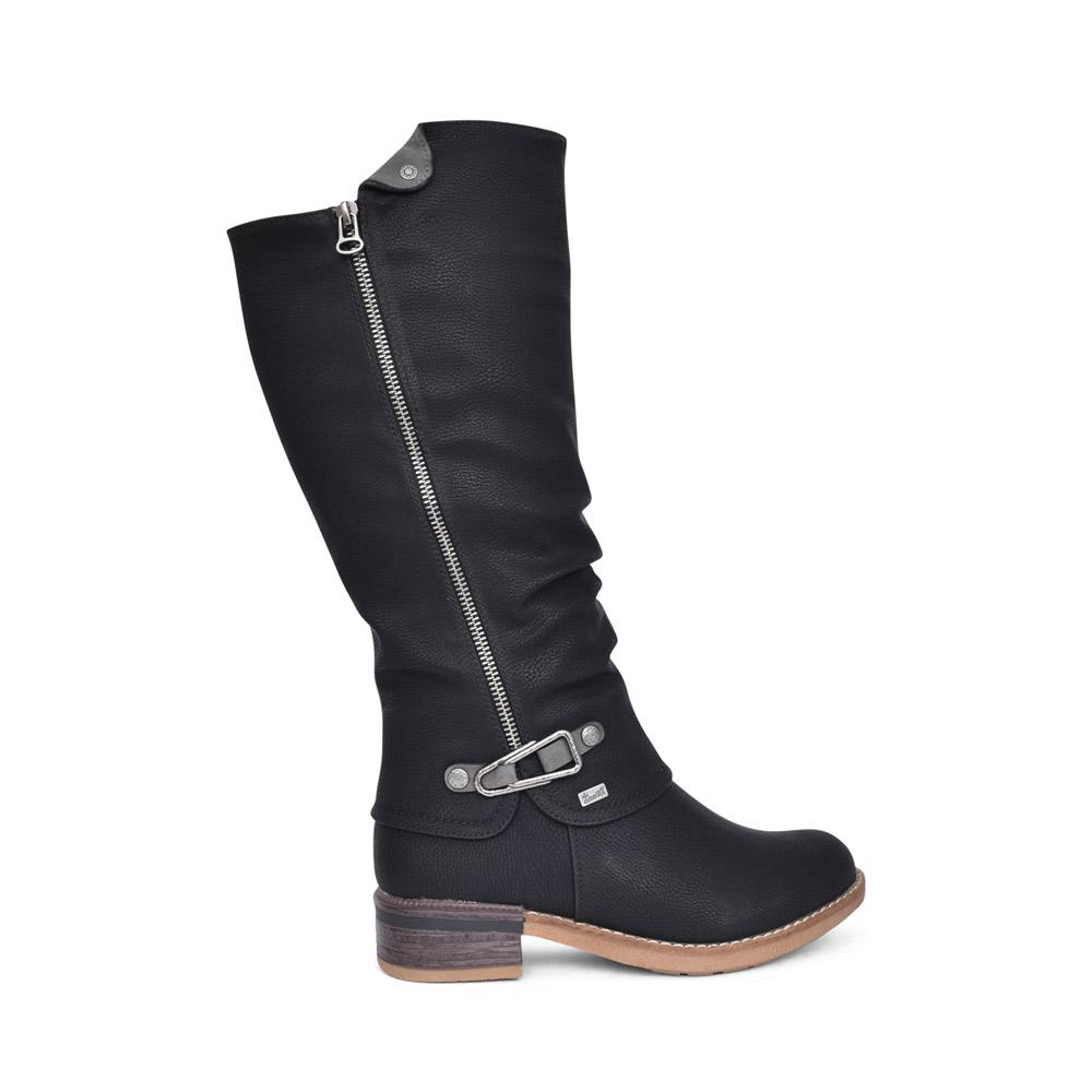 LADIES 94652 TEX LONG LEG BOOT in BLACK