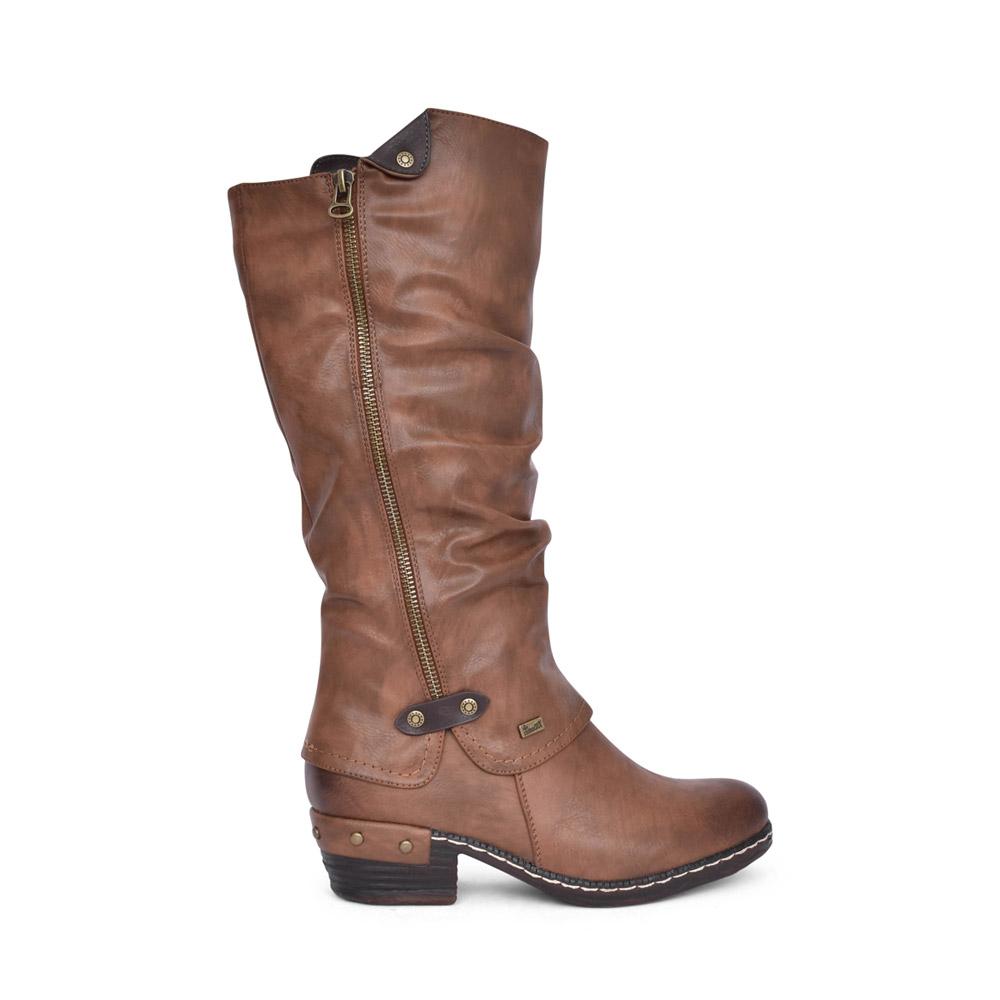 LADIES 93655 TEX LONG LEG BOOT in TAN