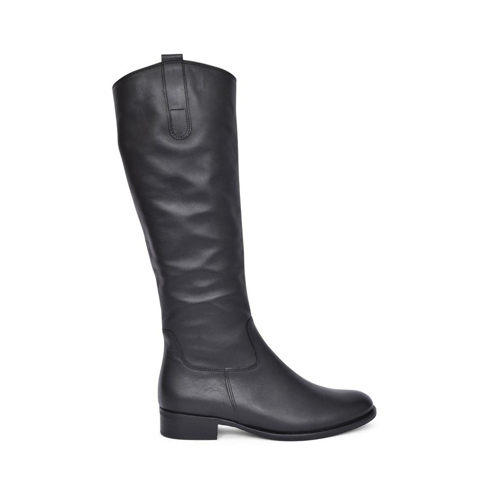 LADIES BROOK S 71.648 LONG LEG BOOT in BLACK